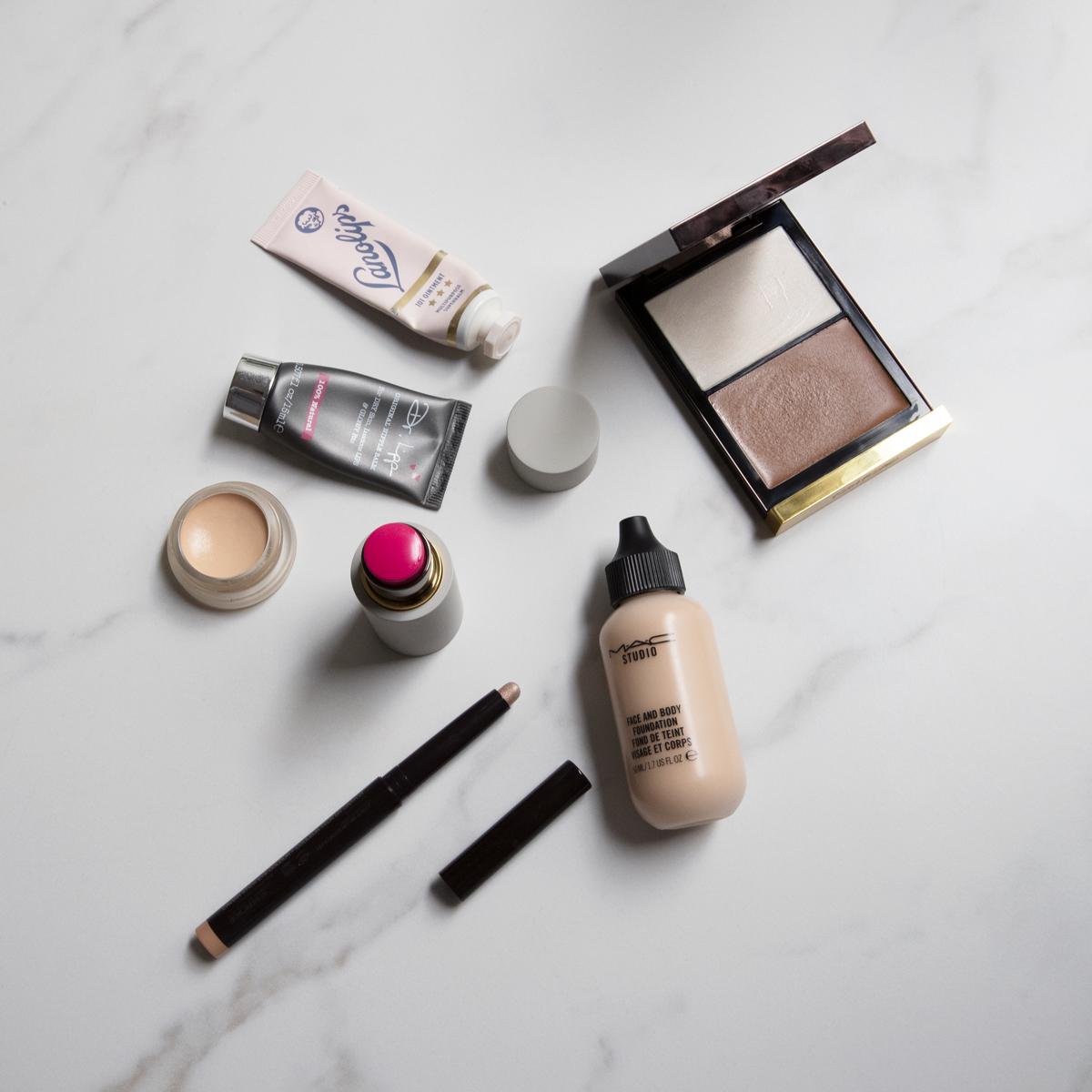 Lockdown makeup