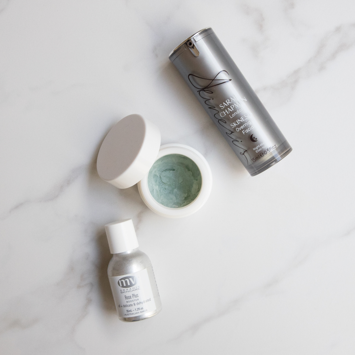 mid-week facial products
